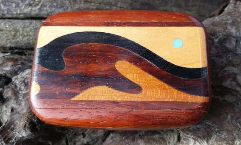 Handmade Inlaid Wooden Box